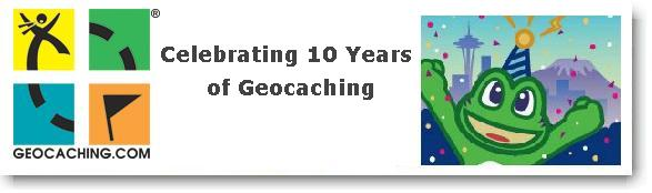Celebrating 10 Years of Geocaching!