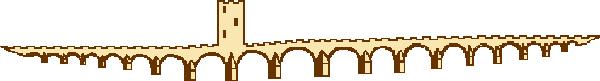 Estrutura original da Ponte da Ajuda