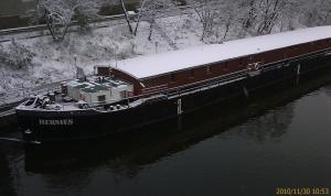 Hermes v zime