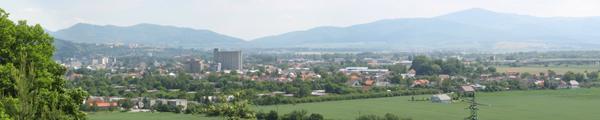 Panorama Zlatoviec
