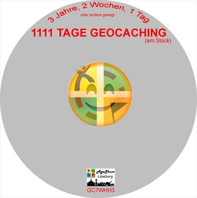 1111 Tage Geocaching