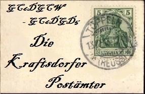 Die Kraftsdorfer Postämter