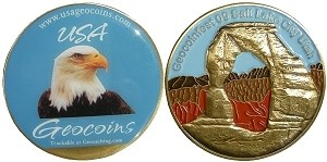 Geocoinfest 2009 by USA Geocoin