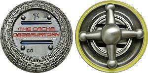 Cache Observatory Geocoin