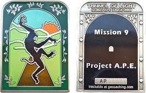 Project A.P.E.: Tunnel of Light Geocoin