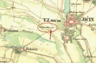 historická mapa (1836-1852)
