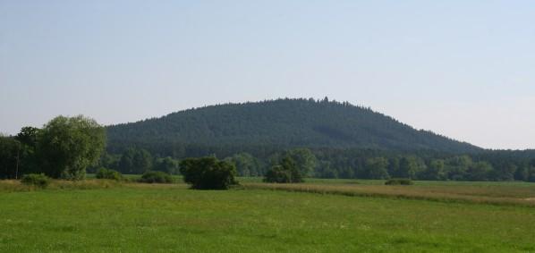 Krakovsky vrch od jihu