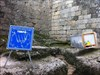 A esposição no castelo