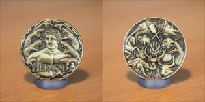 Greek Gods Geocoin - Heracles