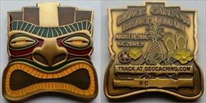 Black Canyon Beach Luau #3 Geocoin - Bronze