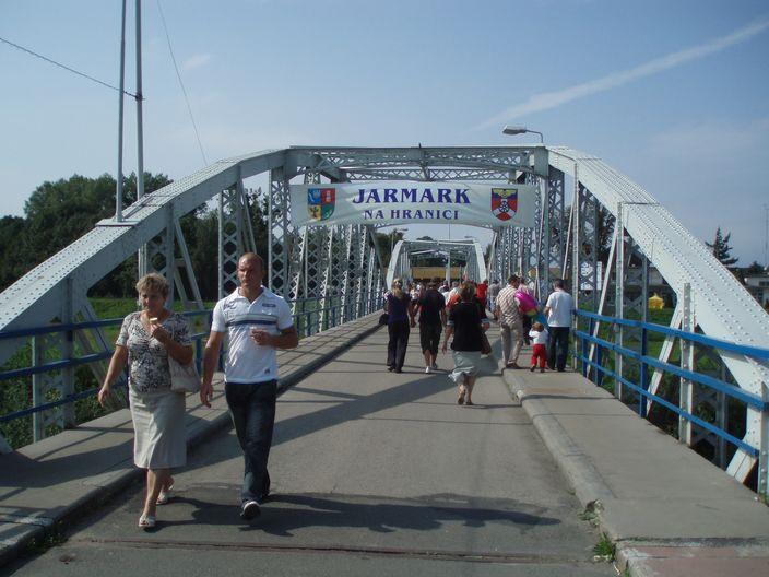 Hranicni most - vhodne misto pro jarmark