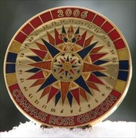 Compass Rose 2006 - Polished Gold LE - front