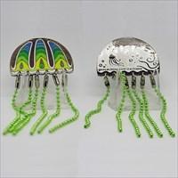 Meduse — Grün