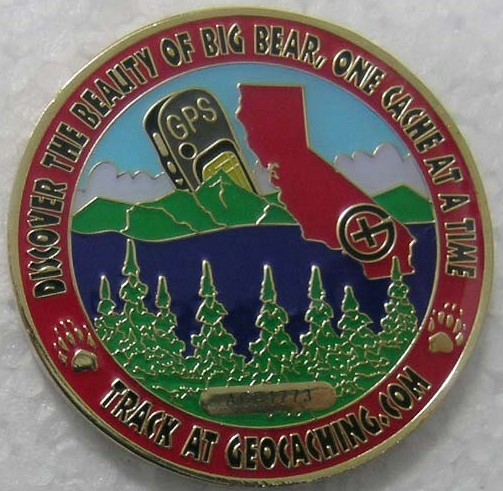 oversizeoregons Big Bear Cache Bash IV Geocoin