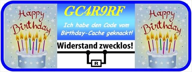 Hardy�s Birthday Cache