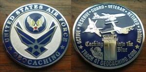 Air Force Geocoin