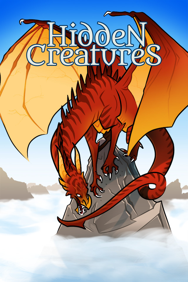Hidden Creatures: Dragon