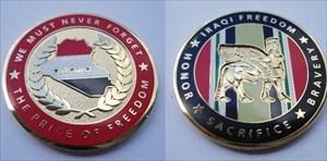 Iraqi Freedom Geocoin
