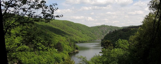 Výhled na řeku
