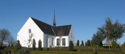 Billede af kirken
