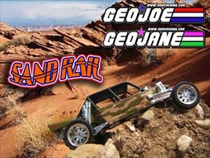 Geo-Jane & Geo-Joe's Sand Rail