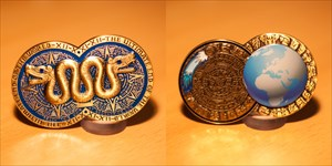 The Ultimate End Geocoin