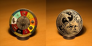 Game of Caches Geocoin