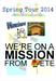 Mission from PPete - Spring Tour 2014