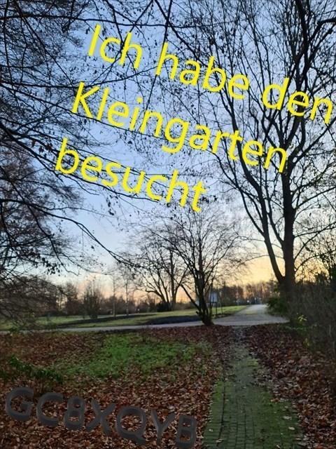 Kleingartencaches