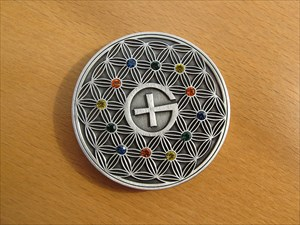 The Colors Of Geocaching Geocoin - Vorderseite