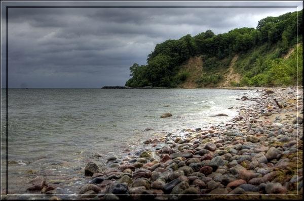 Steilküste, Blick zum Nordperd