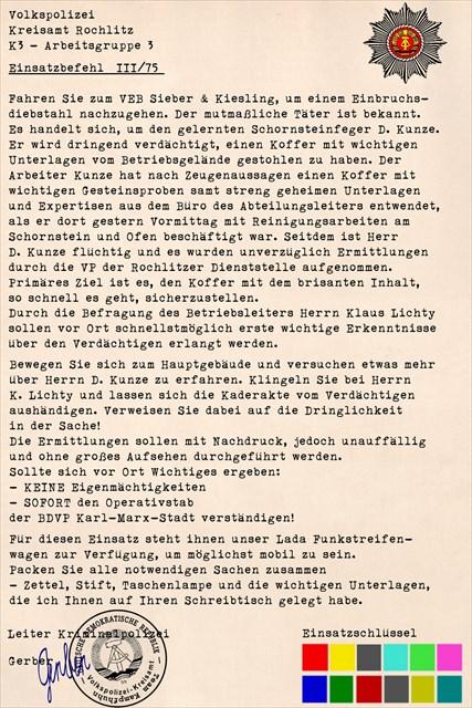 Einsatzbefehl III/75