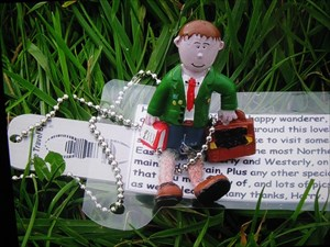 Harry, the happy wanderer...
