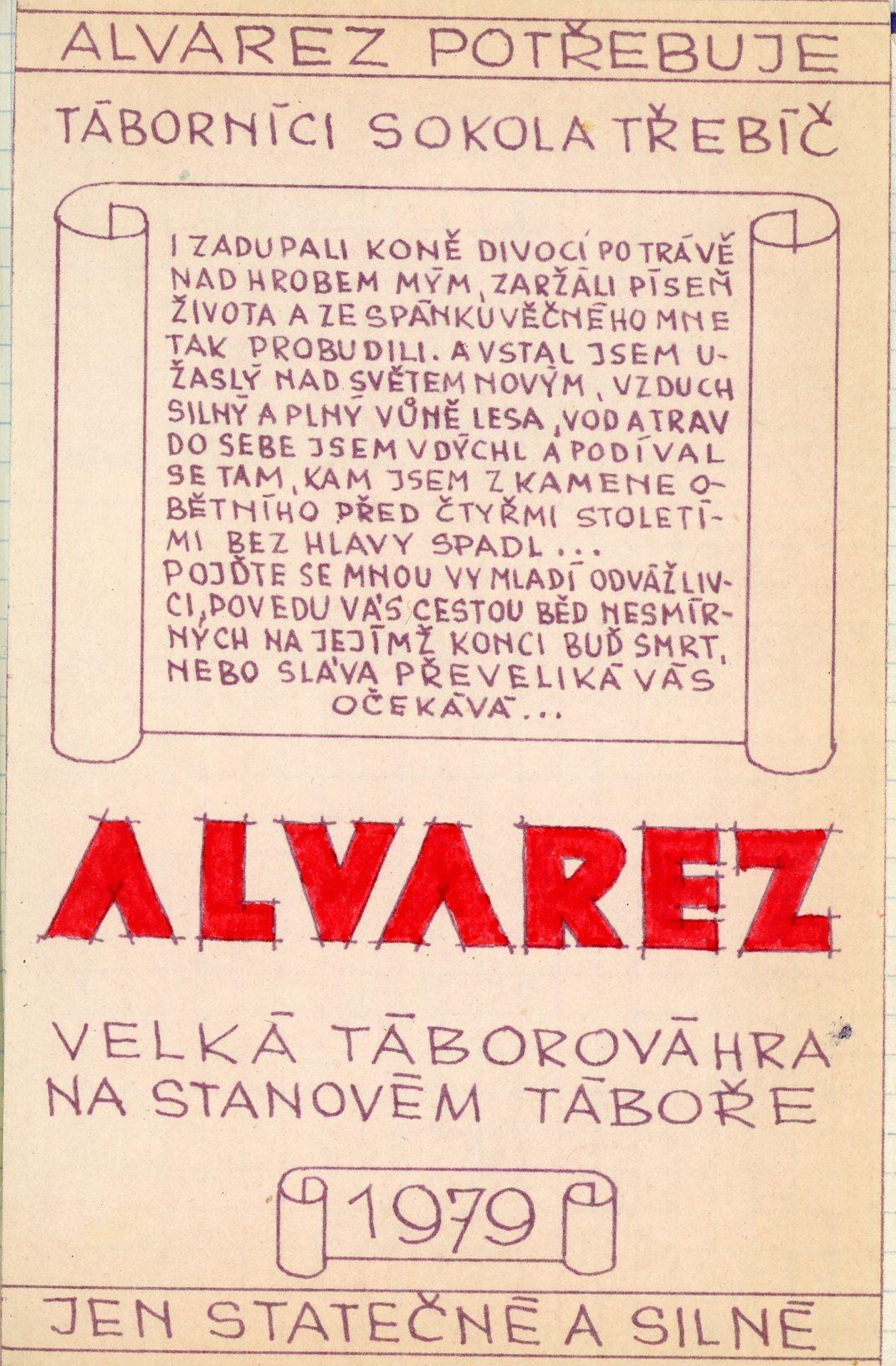 Alvarez - uvodni nalepka