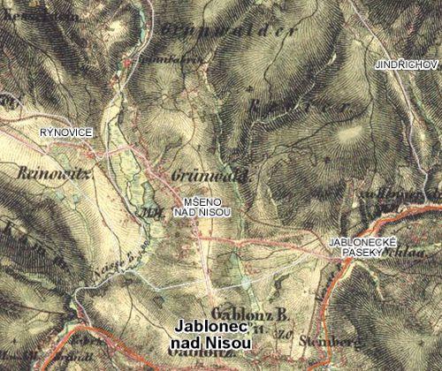 II. vojenske mapovani 1836-52 www.mapy.cz