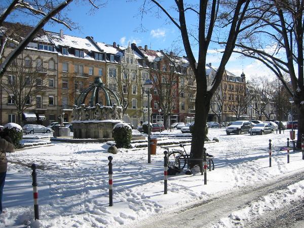 Weihnachten am Gutenbergplatz