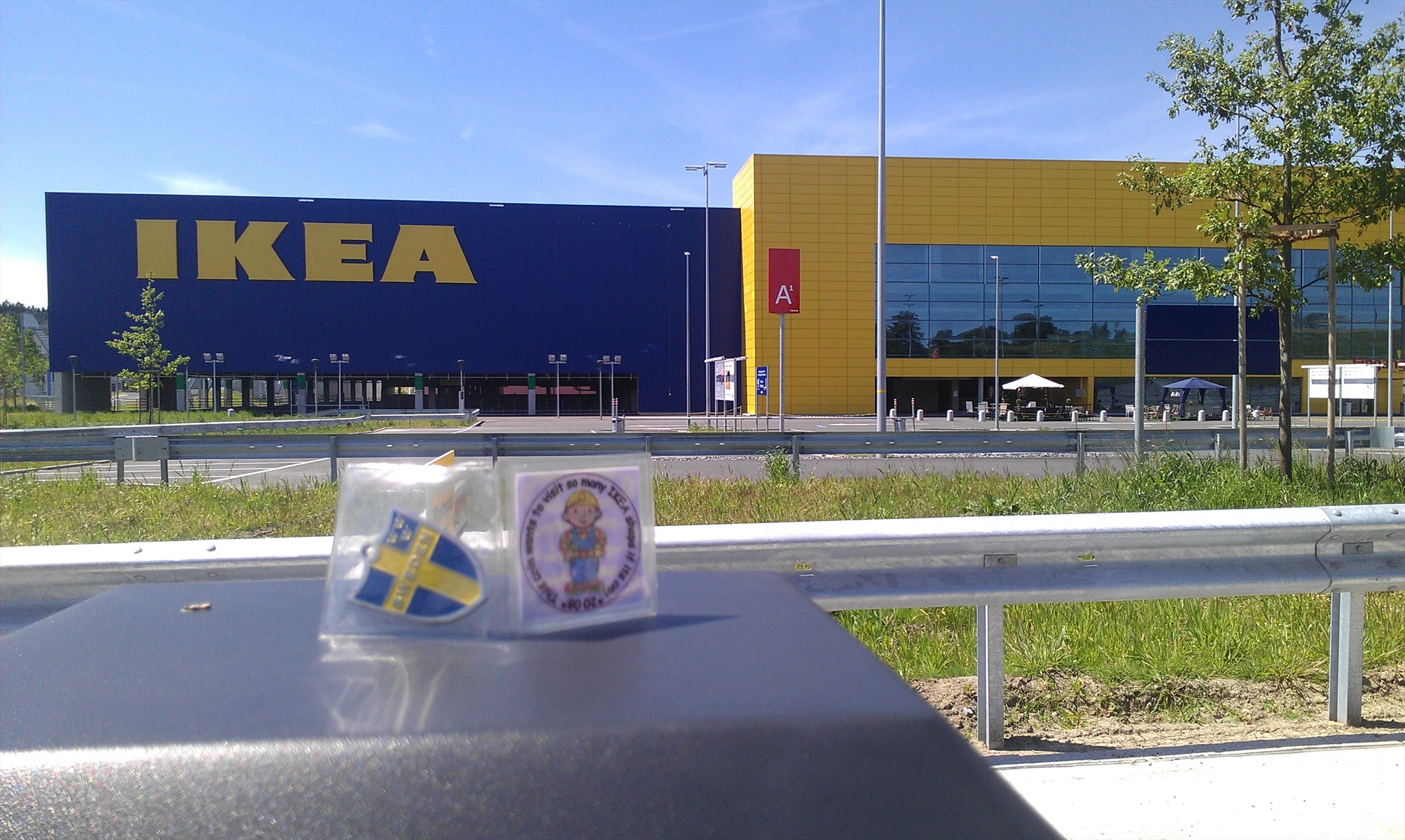 Geocaching log by cerpius for heja sverige at ikea for Ikea call center careers