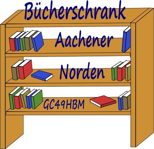 Bücherschrank Aachener Norden