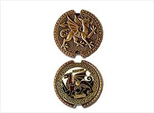 Welsh Dragon Spinner ROT 13