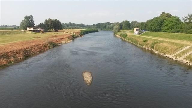 Vyhled na reku Odru