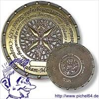 Pichel64 MysteryCoin Mapamundi