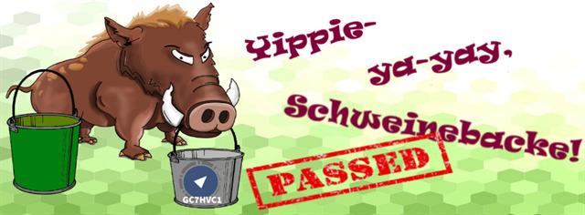 GC7HVC1 - Yippie-ya-yay, Schweinebacke!