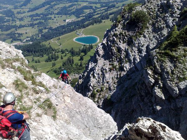 Klettersteig Iseler : Gc e gt unser allgaeu klettersteig am iseler traditional