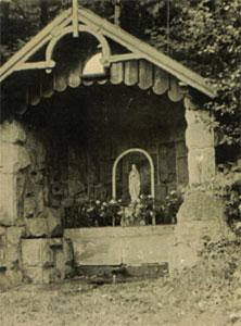 Studánka okolo r. 1910