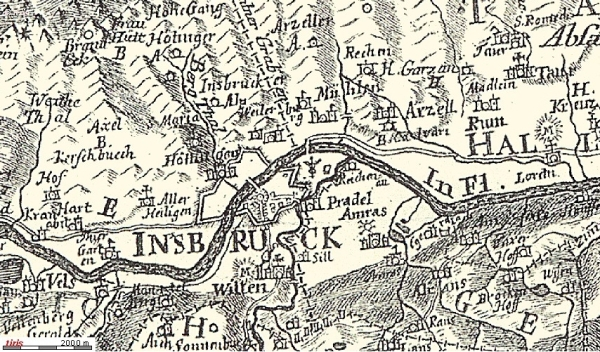 Sillhöfe 1765