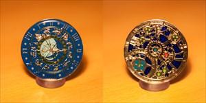 Astronomical Clocks Geocoin