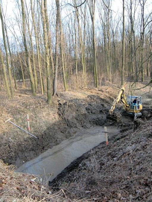Rekonstrukce Mlynskeho potoka