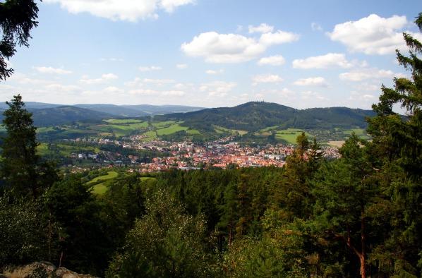 Výhled na Sušici a Svatobor