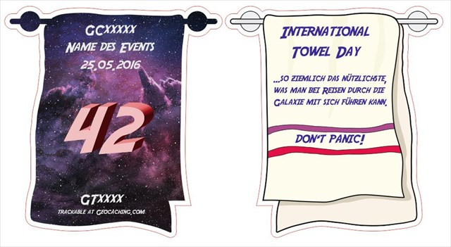 Towel Day 2016 Token
