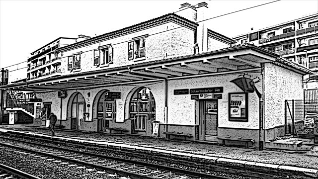 Gare saint laurent du var id es de for Cera stone carrelage saint laurent du var
